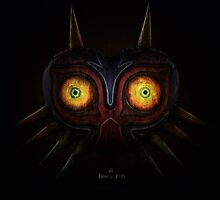 Legends of Zelda Majora's Mask Time's End by godlymagikarp