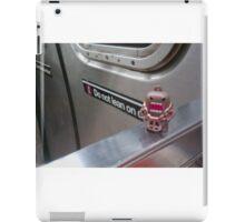 Train rides iPad Case/Skin
