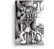 Cello Mania. Canvas Print