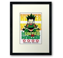 Hunter x Hunter manga Framed Print