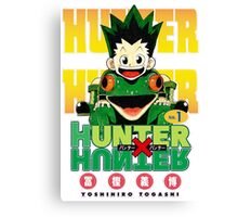 Hunter x Hunter manga Canvas Print