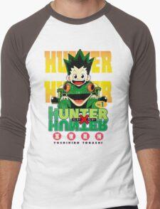 Hunter x Hunter manga Men's Baseball ¾ T-Shirt