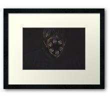 Crawling Framed Print