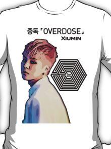 Exo Overdose Xiumin - Black T-Shirt