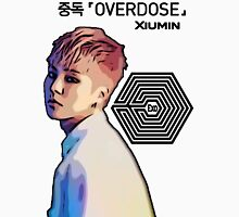 Exo Overdose Xiumin - Black Unisex T-Shirt