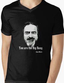 Alan Watts Mens V-Neck T-Shirt