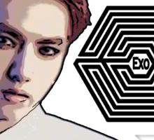 Exo Overdose Kris - Black Sticker