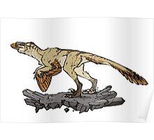 Utahraptor Poster