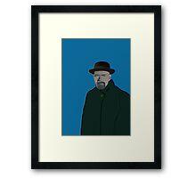 Heisenberg's Blue Period Framed Print