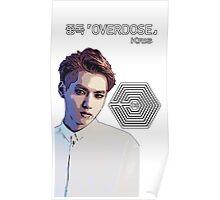 Exo Overdose Kris - White Poster