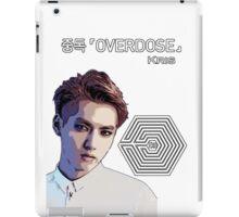 Exo Overdose Kris - White iPad Case/Skin