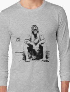 Big Lebowski Thinking Long Sleeve T-Shirt