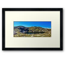 A Mountain Lake Framed Print