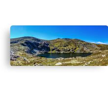A Mountain Lake Canvas Print