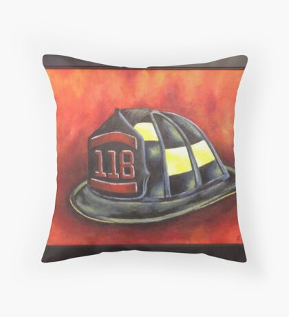 Heroes Among Us Throw Pillow