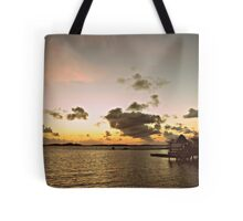 An Old Time Sunrise In The Beautiful Exumas, Bahamas Tote Bag