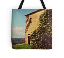 Rustic and Whimsicle Architecture in the Tuscan Countryside of Italy Tote Bag
