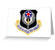 Air Force Special Operations Greeting Card