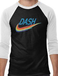 My little Pony Rainbow Dash parody Men's Baseball ¾ T-Shirt