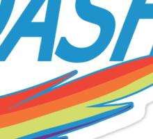 My little Pony Rainbow Dash parody Sticker