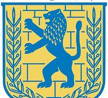 Coat of Arms of Jerusalem  by abbeyz71
