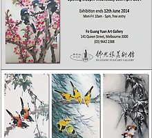 Thanh Duong Lingnan Art Exhibition 30/4 - 12/6/2014 by Thanh Duong