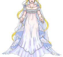 Princess Serenity  by Monoclebunny