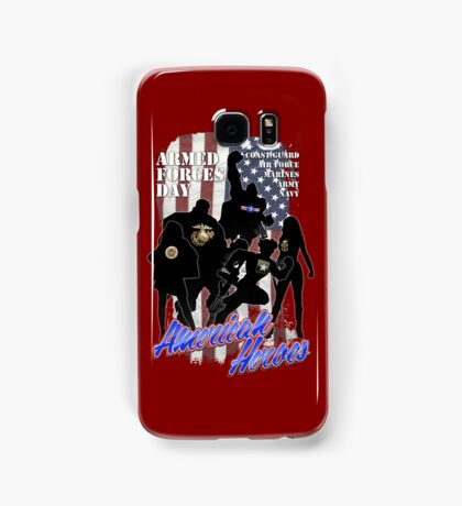 Armed Forces Day - American Heroes Samsung Galaxy Case/Skin