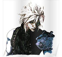 Cloud Final Fantasy 7 Poster