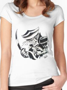 510 - Skeleton Crew Women's Fitted Scoop T-Shirt