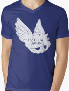 Last Place is Coming Mens V-Neck T-Shirt