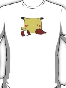 Pikachu Ketchup Kawaii T-Shirt