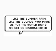 Disconnected Chorus - 5SOS Speech Bubble by Sophia Farrant