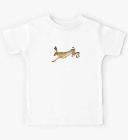 Hare Leaping Kids Tee