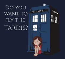Do you want to fly the TARDIS by Tauna