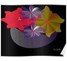 Floral Display Poster