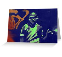 graffiti boy Greeting Card