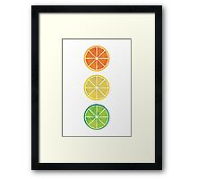 Acid Trio Framed Print