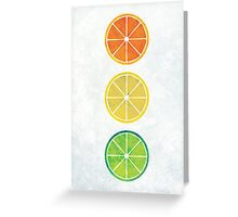 Acid Trio Greeting Card