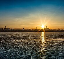 Liverpool sunrise by Paul Madden