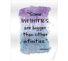 Infinities - The fault in our stars  Poster