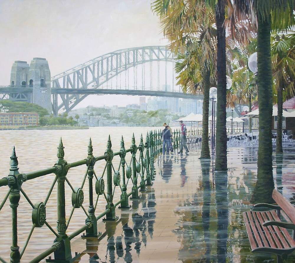 After the rain by Freda Surgenor