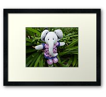 I'm an Elephant get me out of here Framed Print