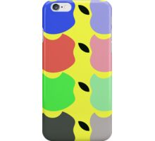 Apples colourful design iPhone Case/Skin