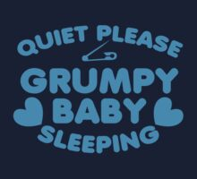 Quite please GRUMPY BABY SLEEPING Kids Clothes