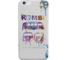 Volkswagen Kombi 3 Way (faded) © iPhone Case/Skin