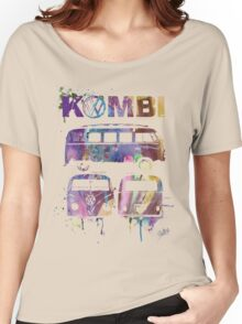 Volkswagen Kombi 3 Way (faded) © Women's Relaxed Fit T-Shirt