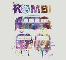 Volkswagen Kombi 3 Way (faded) © Unisex T-Shirt