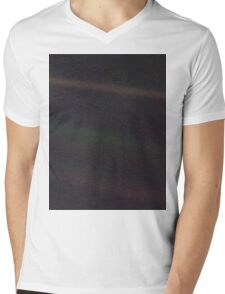 The Pale Blue Dot Mens V-Neck T-Shirt