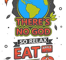 There's no God poster by jonick